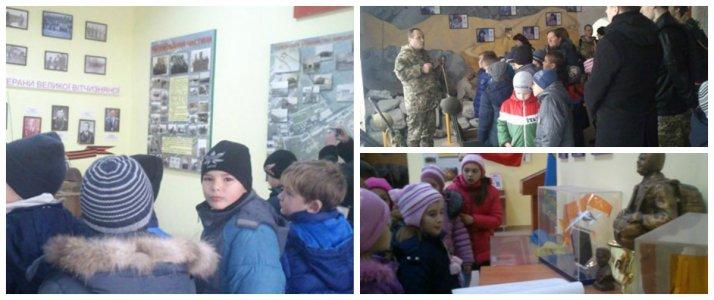 Бойові традиції: Діти ходять на екскурсію до військової частини