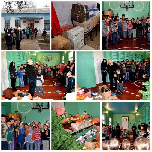 Святой Николай привез подарки в интернат