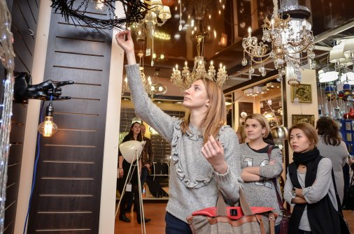 Открылась выставка электро- и свето-техники «Світло майбутнього»