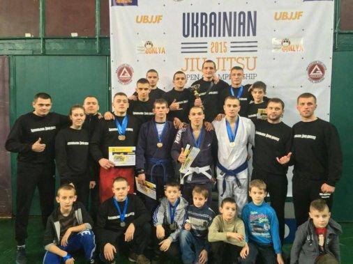 Серебро открытого чемпионата Украины по бразильскому Джиу-Джитсу - в Кировограде
