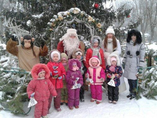 Різдвяна казка у Дендропарку