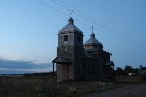 Один із найгарніших дерев'яних храмів Кіровоградщини