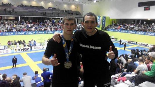 Ярослав Блажко - серебряный призёр чемпионата Европы!