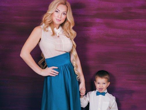 Леди Елисаветграда-2016: Наталья Клименкова с сыночком Андрюшей