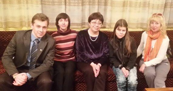 Зимовий мотив: Ольга Полєвіна