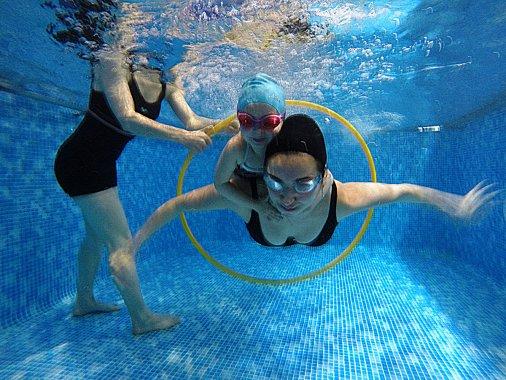Плаваем по-семейному