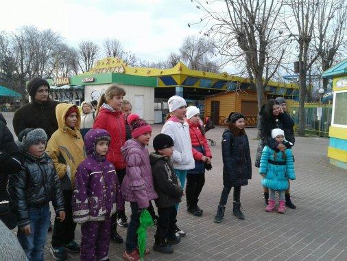 Як у кіровоградському Дендропарку Масляну святкували