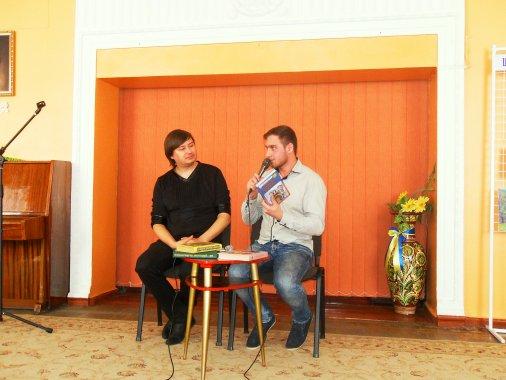 Олексій Козачинський та Богдан Швець читали дітям