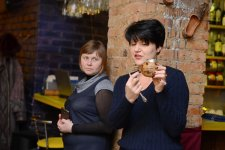 "Жанна Січкар презентує чаї у кафе ""Марракеш"""