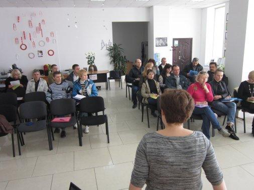 Тренинг для бывших военных об основах работы общественной организации прошел в Кировограде