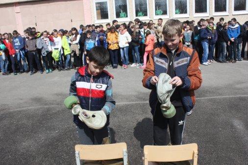 Рятувальники навчали школярів правилам безпеки