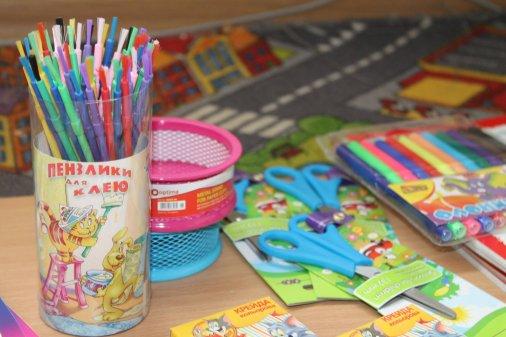 Приносьте матеріали для розвитку творчих здібностей дітей!