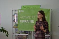 Ірина Ткаченко відкриває тренінг