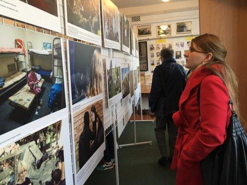 Жінки і конфлікт в Україні: Фотовиставка відкрилась у Знам'янці