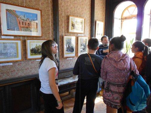 Юні художники переймали досвід «зубрів» мистецтва