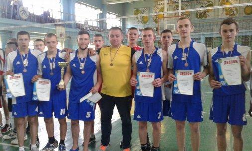 Учні ВПУ №9 - бронзові призери чемпіонату України з волейболу