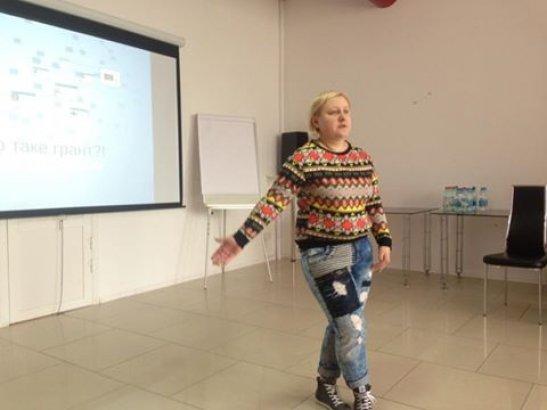 Керівник проекту - Ольга Гріднєва