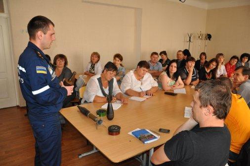Рятувальники провели семінар для викладачів безпеки життєдіяльності