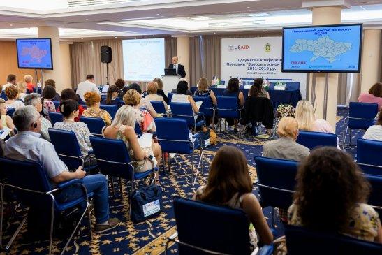 Заключна конференція Програми «Здоров'я жінок України»