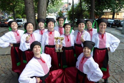 """Ансамбль """"Час Пік"""" став абсолютним переможцем на фестивалі у Болгарії"""