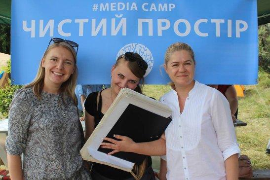 Оксана Войчишина, Оля Полякова та Наталя Хандусенко