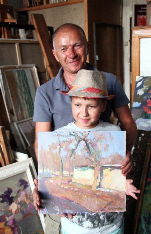 Петр Нагуляк - в жюри Всеукраинского конкурса детского рисунка «Щаслива дитина - квітуча Україна»