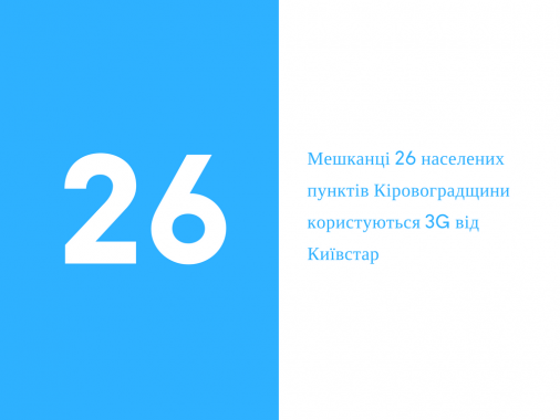 Київстар продовжує активне будівництво мереж 3G