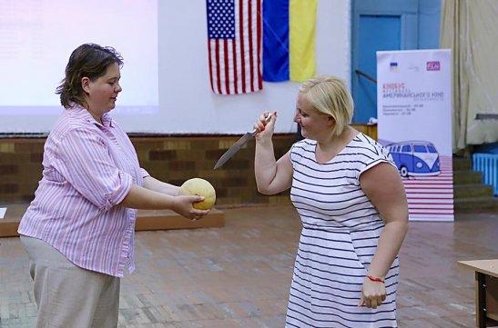 Надія Заварова та Ольга Гріднєва