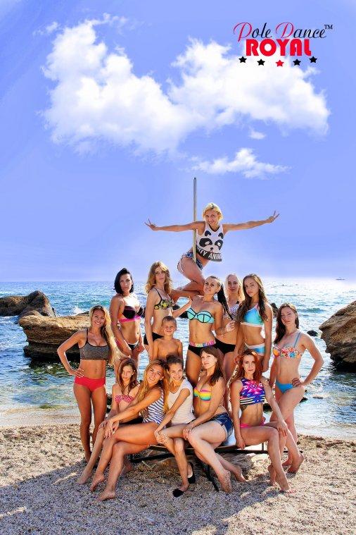 """Девушки из """"Royal Pole Dance"""" выступили в Одессе!"""