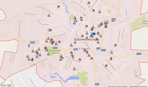 Карту навчальних закладів презентувало міське управління освіти