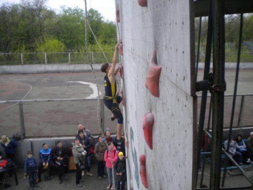 Юні туристи взяли участь у Чемпіонаті Європи зі скелелазіння