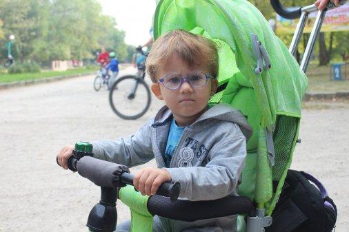 Дитячі велосипедні перегони «РоверОК» відшуміли у Дендропарку