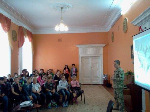 Діти та військові