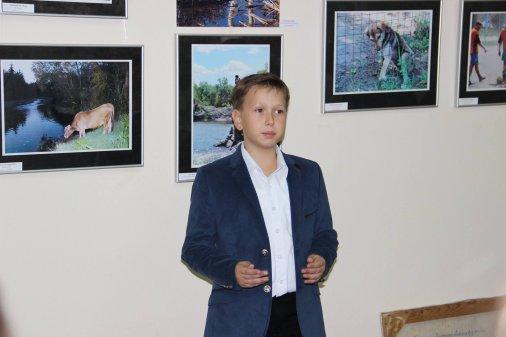 Глєб Цуканов презентував восьму виставку
