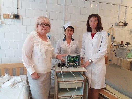 Нове обладнання отримав Обласний кардіологічний диспансер