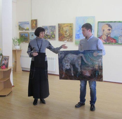 Виставка, присвячена пам'яті Павла Олексієнка