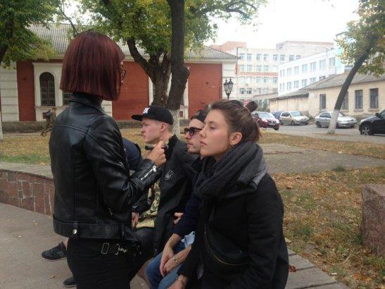 Підготовка до зйомок - макіяж для Анастасії Бабій