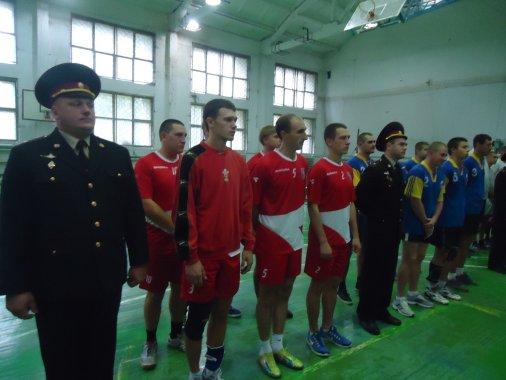 Рятувальники перемогли у змаганнях з волейболу!