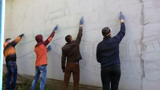 Студенти розмальовують місто Кропивницький