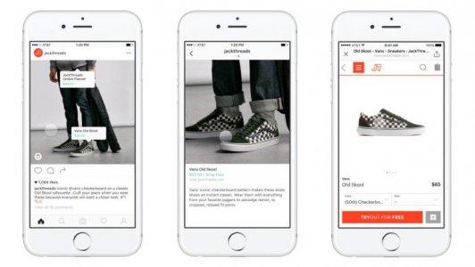 Instagram представил «торговые теги», с помощью которых можно купить товары в приложении