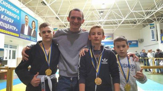 Юные джитсеры привезли из Хмельницкого 3 золотых медали