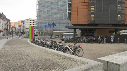 На роботу бельгійці їдуть переважно велосипедами