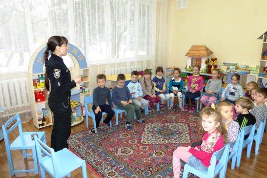 Представник Національної поліції – лейтенант Оксана Білоброва