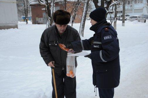 У свята по Кропивницькому ходять не тільки щедрувальники, але й рятувальники