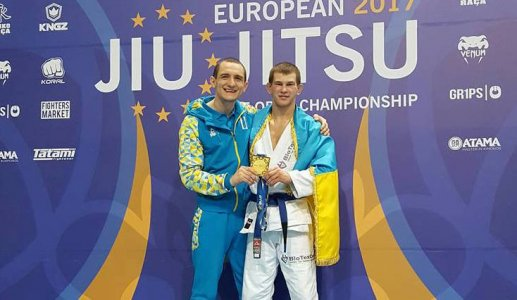 Ярослав Блажко- чемпион Европы IBJJF 2017!