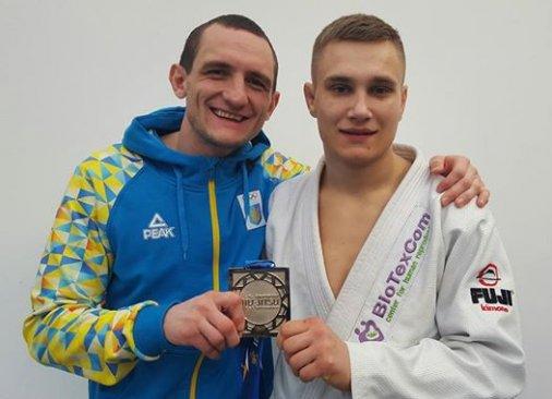 Роман Непота - серебряный призёр чемпионата Европы