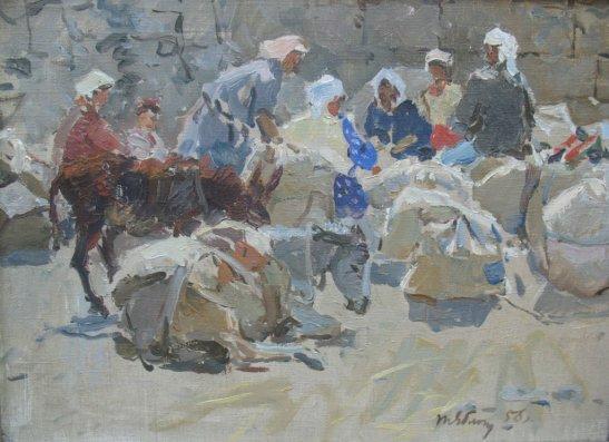 Біля млина в Аштараці, автор - Тетяна Яблонська