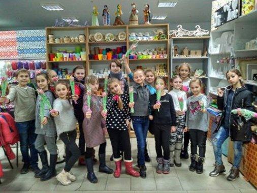 Мир Креатива: Тюльпаны с конфетами