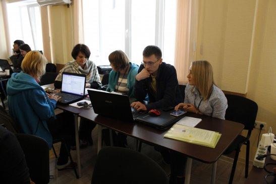 Учасниці і учасники тренінгу, фото - Олександр Іванов, Долинська