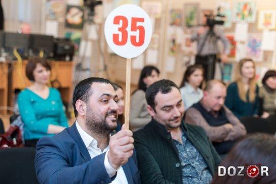 Тігран Хачатрян бере участь в Аукціоні